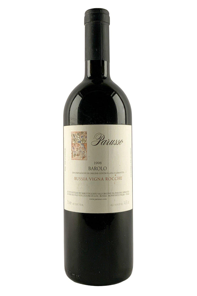 Bottle of Parusso, Barolo Bussia Vigna Rocche, 1998 - Flatiron Wines & Spirits - New York