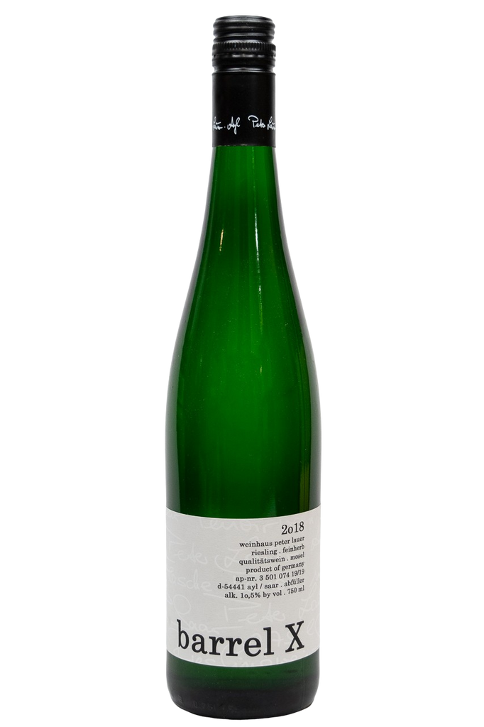 "Bottle of Peter Lauer, Riesling ""Barrel X"", 2018 - Flatiron Wines & Spirits - New York"