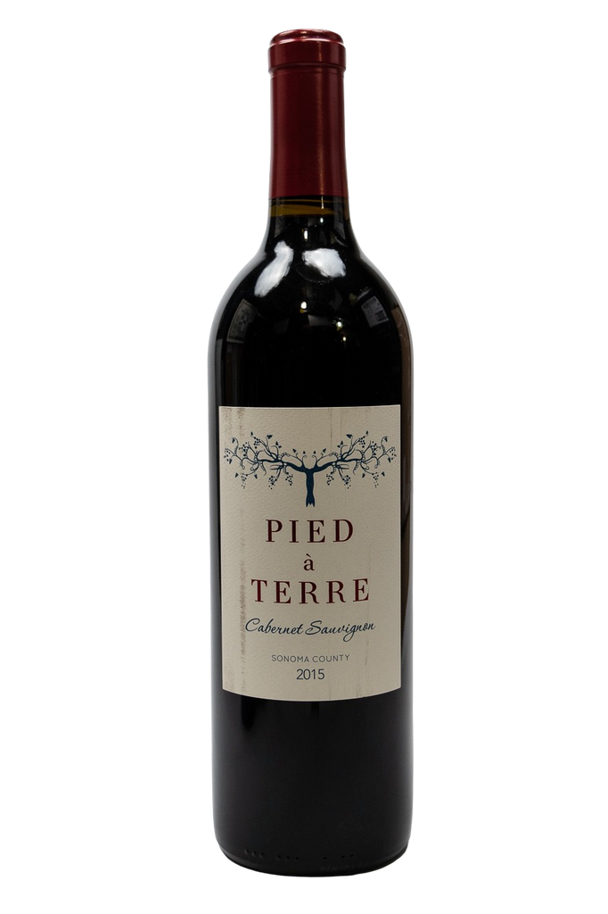 Bottle of Pied a Terre, Cabernet Sauvignon, 2015 - Flatiron Wines & Spirits - New York
