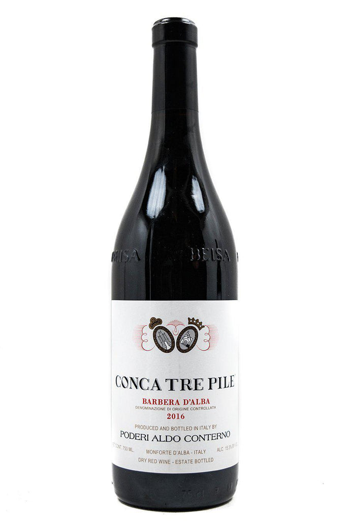 Bottle of Poderi Aldo Conterno, Barbera d' Alba Conca Tre Pile, 2016 - Flatiron Wines & Spirits - New York