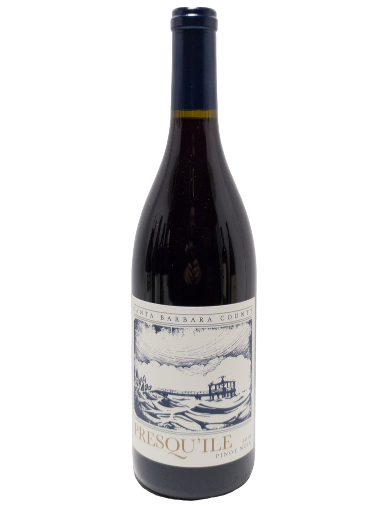 Bottle of Presqu'ile Winery, Pinot Noir Santa Barbara County, 2018 - Flatiron Wines & Spirits - New York