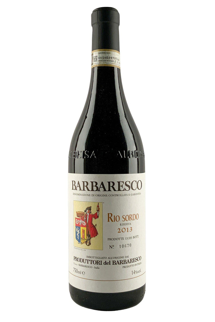 Bottle of Produttori del Barbaresco, Barbaresco Rio Sordo Riserva, 2013 - Flatiron Wines & Spirits - New York