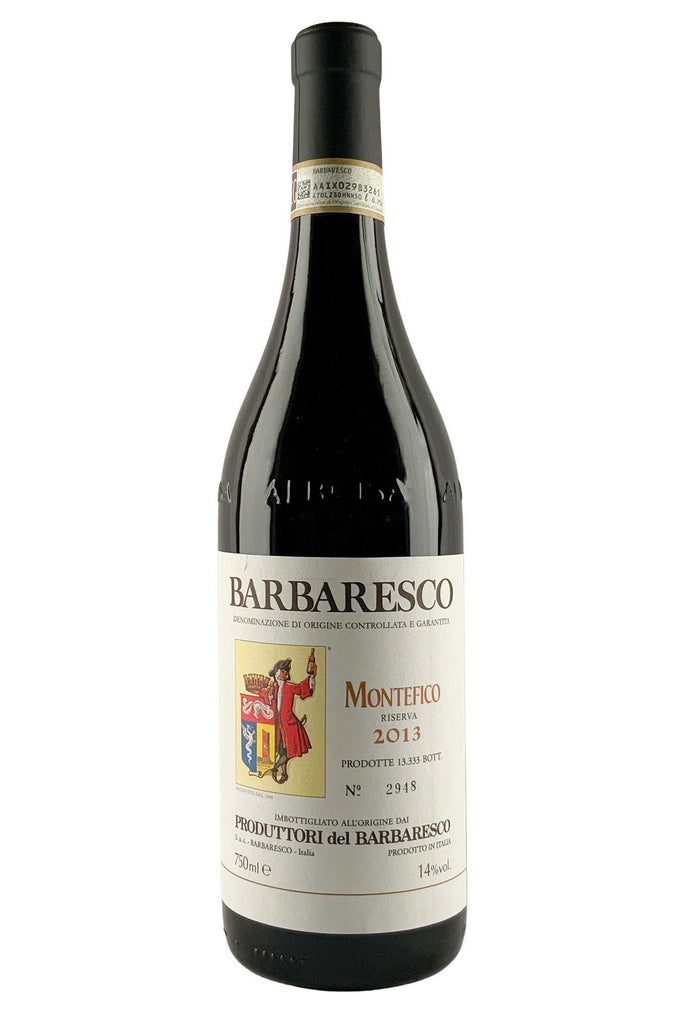 Bottle of Produttori del Barbaresco, Barbaresco Riserva Montefico, 2013 - Flatiron Wines & Spirits - New York