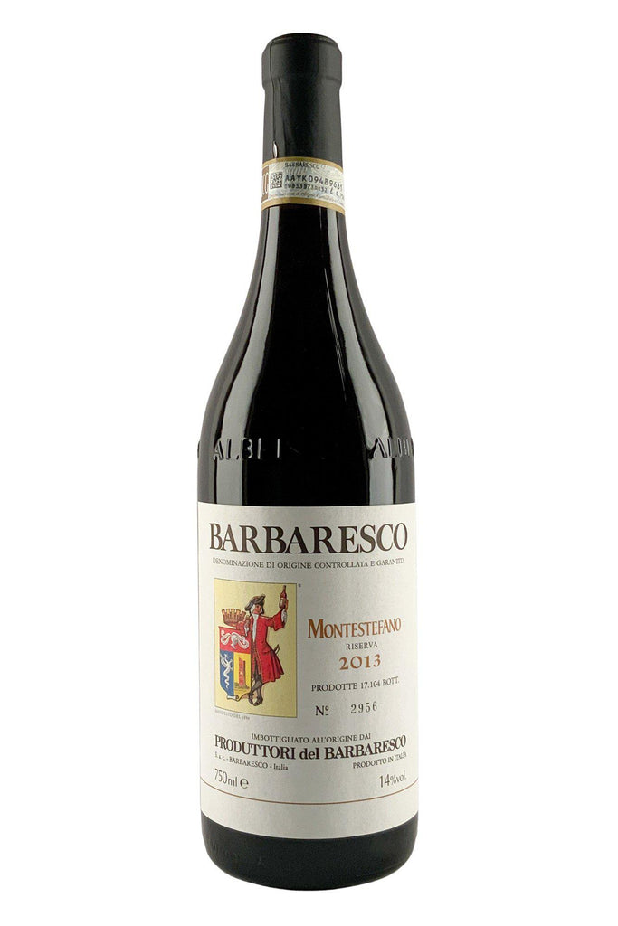 Bottle of Produttori del Barbaresco, Barbaresco Riserva Montestefano, 2013 - Flatiron Wines & Spirits - New York