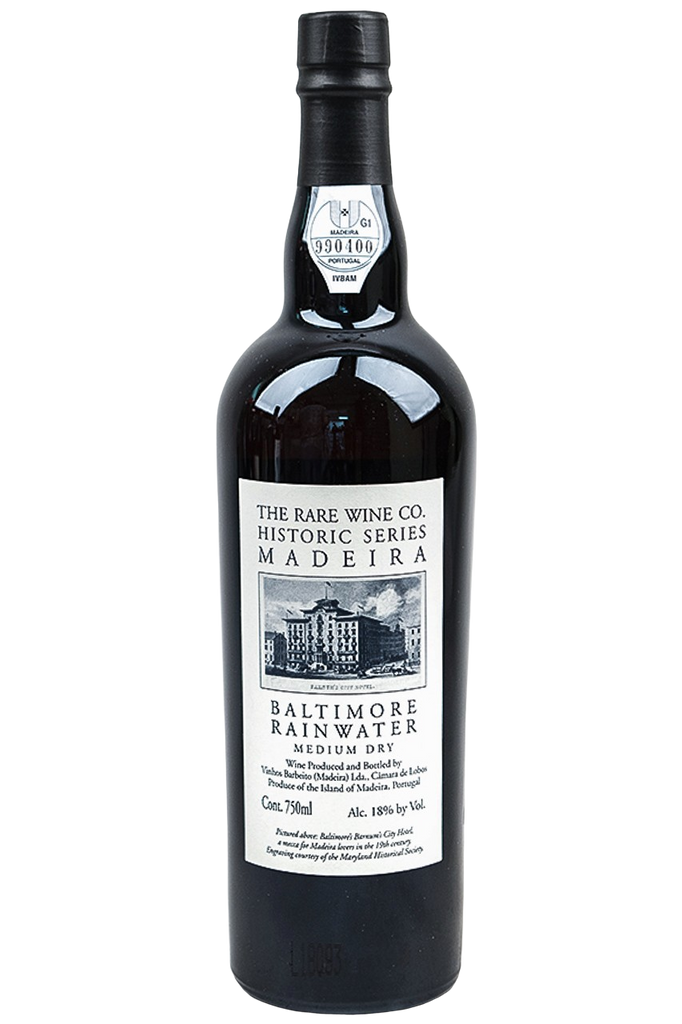 Bottle of Rare Wine Co. Historic Series Madeira, Baltimore Rainwater Special Reserve, NV - Flatiron Wines & Spirits - New York