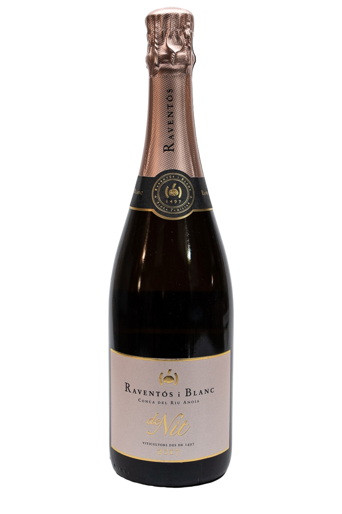 Bottle of Raventos i Blanc, Conca de Riu Anoia Rose de Nit, 2017 - Flatiron Wines & Spirits - New York
