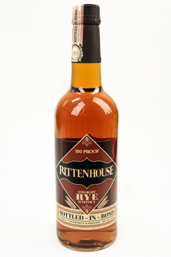 Bottle of Rittenhouse, Bottled-in-Bond, Rye-Flatiron Wines & Spirits - New York