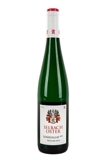 Bottle of Selbach-Oster, Riesling Trocken Zeltinger Sonnenuhr***, 2016* - Flatiron Wines & Spirits - New York