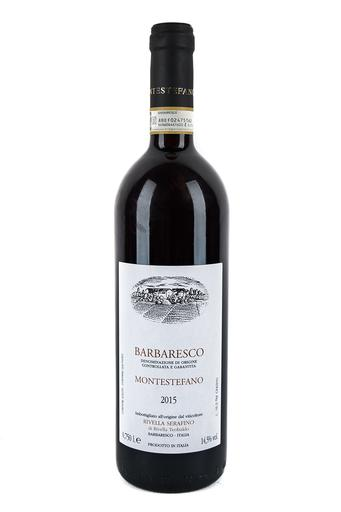 Bottle of Serafino Rivella, Barbaresco Montestefano, 2015 - Flatiron Wines & Spirits - New York