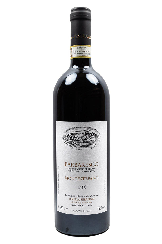 Bottle of Serafino Rivella, Barbaresco Montestefano, 2016 - Flatiron Wines & Spirits - New York