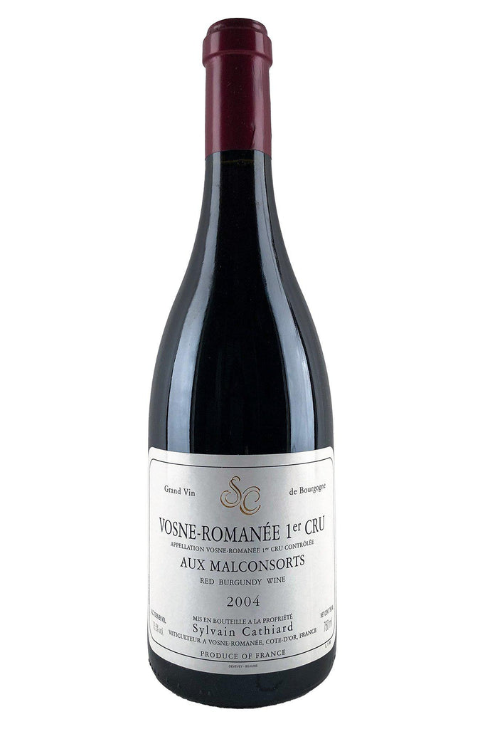 Bottle of Sylvain Cathiard, Vosne-Romanee 1er Cru Les Malconsorts, 2004 - Flatiron Wines & Spirits - New York