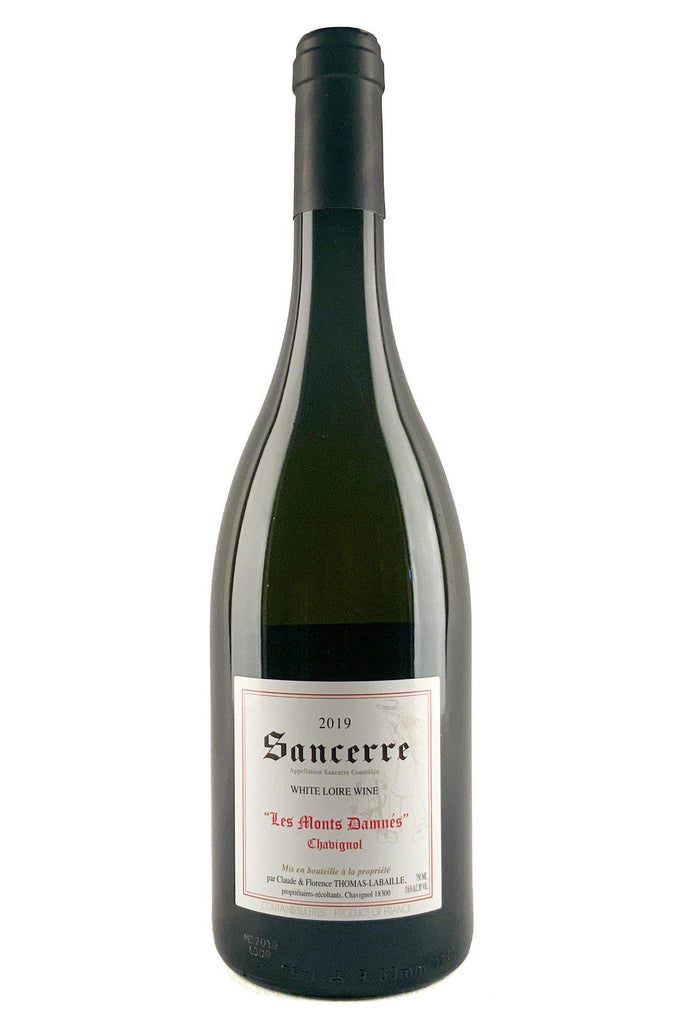 Bottle of Thomas-Labaille, Sancerre Chavignol Les Monts Damnes, 2019 - Flatiron Wines & Spirits - New York