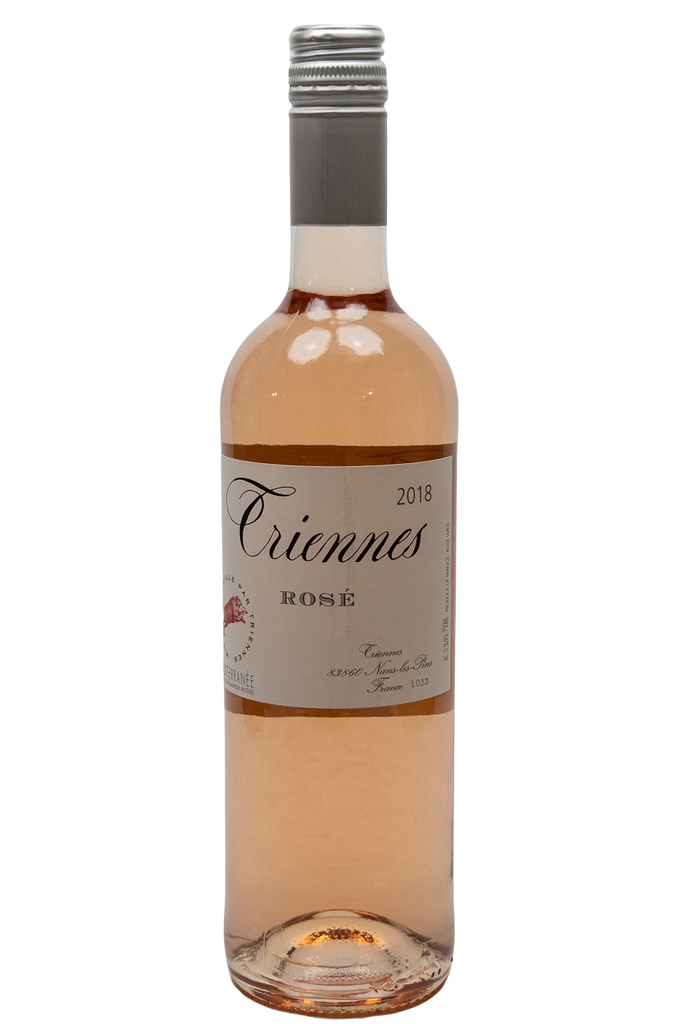 Bottle of Triennes, Méditerranee Rose, 2018 - Flatiron Wines & Spirits - New York