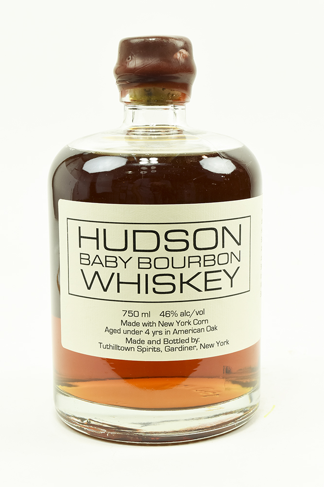 Bottle of Tuthilltown Spirits, Hudson Whiskey Baby Bourbon-Flatiron Wines & Spirits - New York