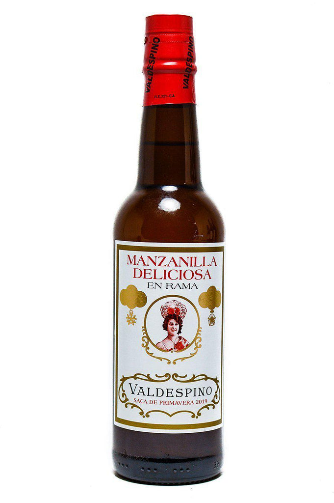 "Bottle of Valdespino, Manzanilla En Rama ""Deliciosa"", NV [2020 release] (375mL) - Flatiron Wines & Spirits - New York"