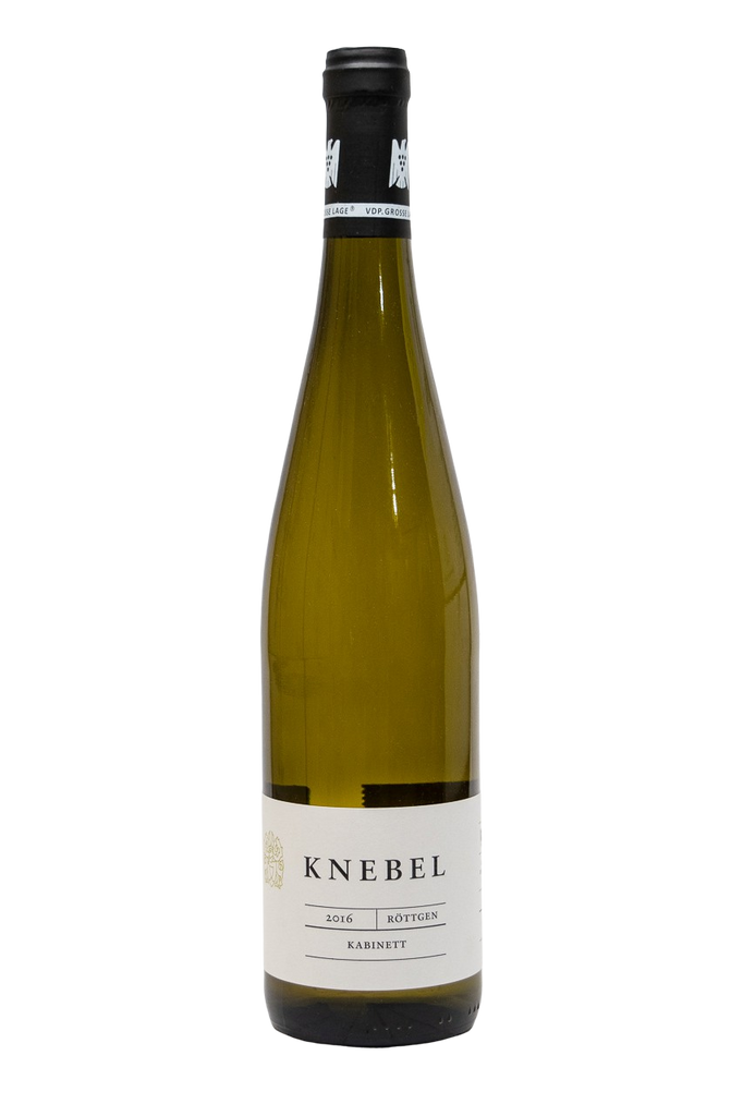 Bottle of Weingut Knebel, Riesling Rottgen Kabinett, 2016 - Flatiron Wines & Spirits - New York