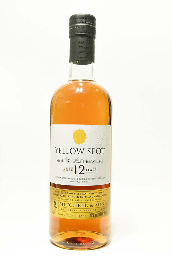 Bottle of Yellow Spot, Irish Whiskey 12yr-Flatiron Wines & Spirits - New York