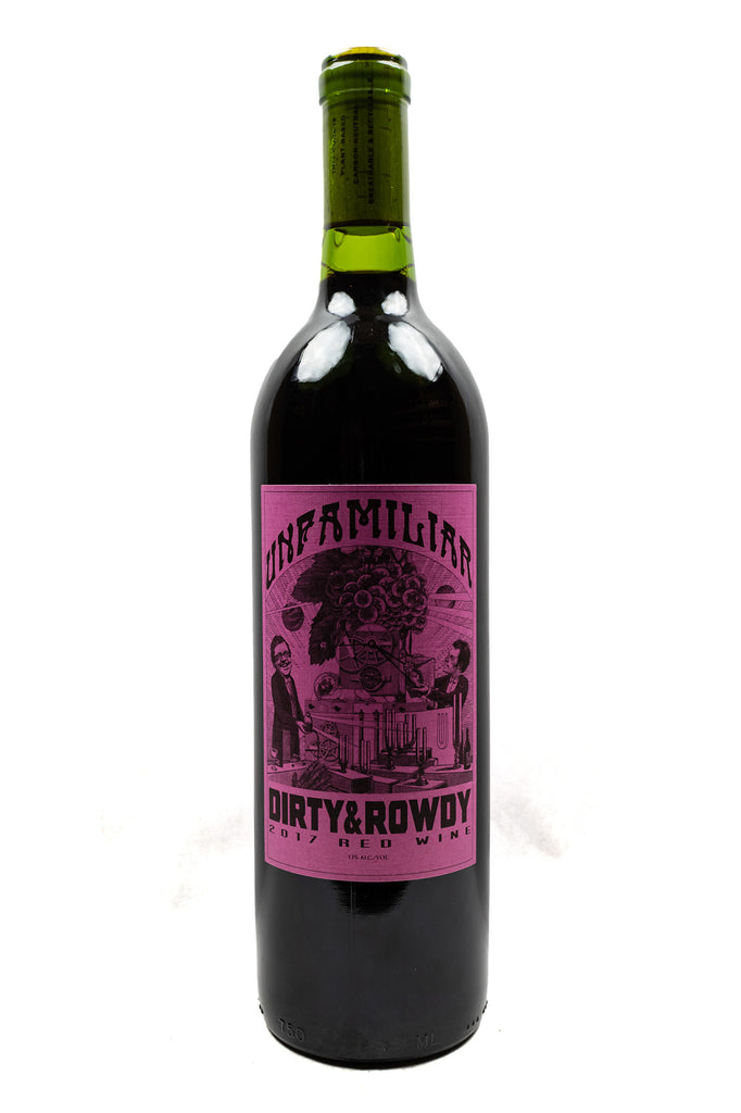 Dirty and Rowdy, Unfamiliar Red Blend, 2017