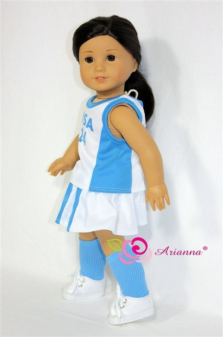Arianna Lacrosse  Tennis  Uniform  Fits American Girl 18 inch Doll