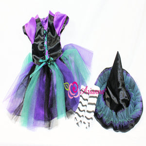 Arianna Coven Witch Costume fits 18 inch Dolls