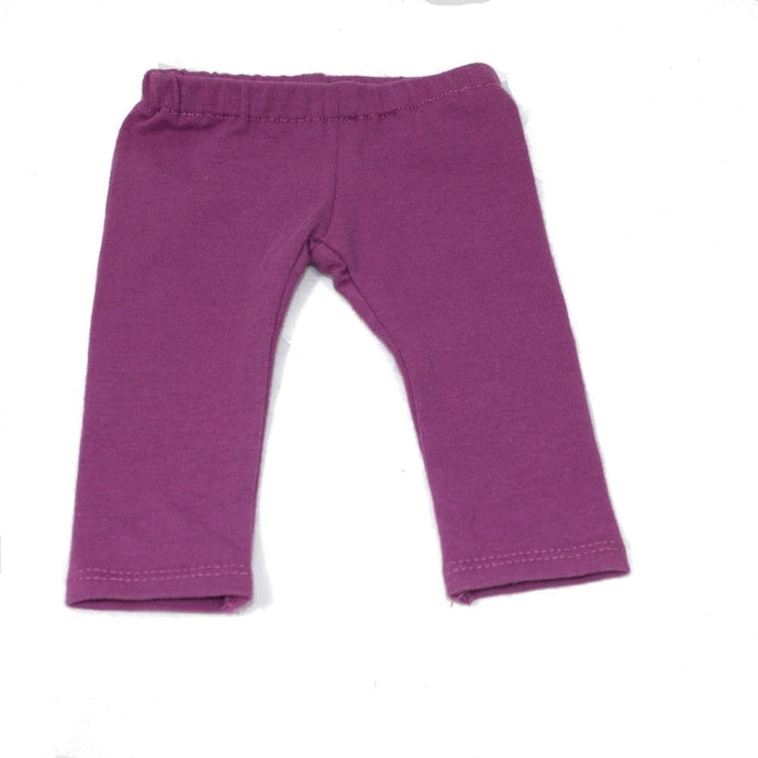 Arianna Purple Leggings Fits 18 inch Dolls