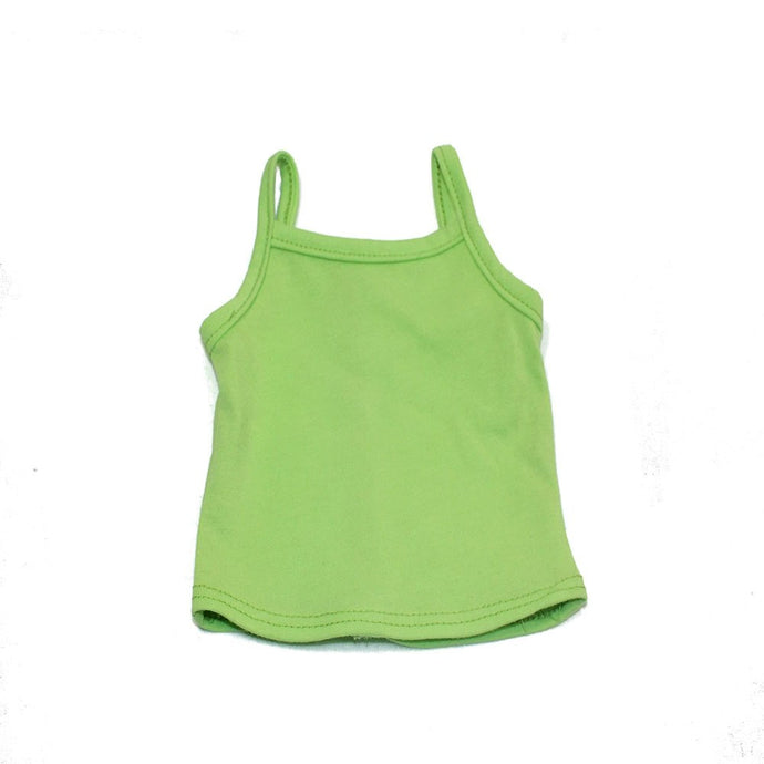 Arianna Lime Colored Tank Top fits 18 Inch Dolls