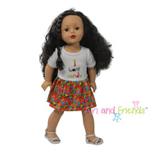 Ari and Friends I Want Candy Dress Fits 18 inch Dolls