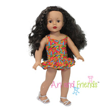 Ari and Friends I Want Candy Swimsuit Fits 18 inch Doll