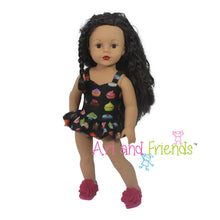 "Ari and Friends Cupcake Swimsuit Fits American Girl 18"" Dolls"