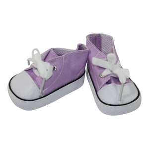 Arianna Low Cut Canvas Sneaker Fits American Girl 18 inch Doll