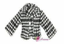 Arianna Houndstooth Jacket  Fits American Girl 18 inch Doll
