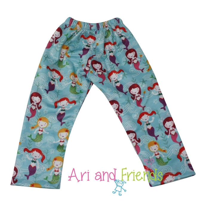 Ari and Friends Mermaid Legging Fits 18 inch Dolls