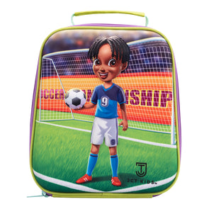 3D Soccer Lunch Bag for Kids
