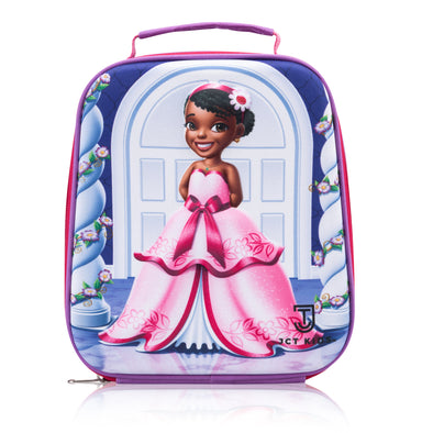 3D Princess Lunch Bag for Kids