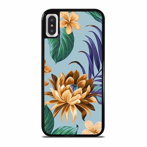 ALOHA PATTERN iPhone X/XS Case Cover