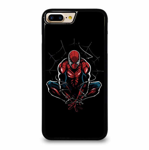 AMAZING SPIDER MAN ON BLACK iPhone 5/5S/SE 6/6S 7/8 Plus X/XS 11 Max Pro Case