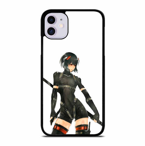 ANIME GHOST IN THE SHELL MOTOKO KUSANAGI iPhone 11 Case Cover