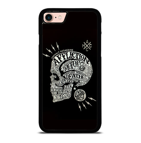 Affliction Live Fast for iPhone 7 or 8 Case