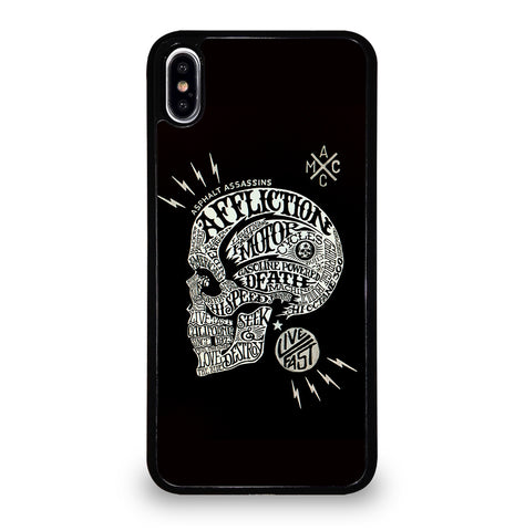 Affliction Live Fast for iPhone XS Max Case Cover