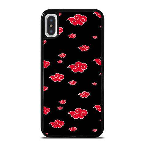 Akatsuki Clouds Naruto for iPhone X or XS Case Cover