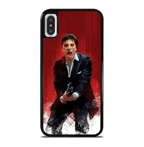 Al Pacino Scarface Drawing for iPhone X or XS Case