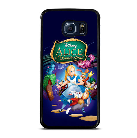 Alice in Wonderland Poster for Samsung Galaxy S6 Edge Case Cover