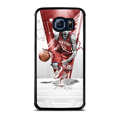 Allen Iverson Philadelphia 76ers for Samsung Galaxy S6 Edge Case