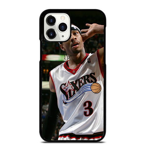 Allen Iverson Sixers NBA for iPhone 11 Pro Case Cover