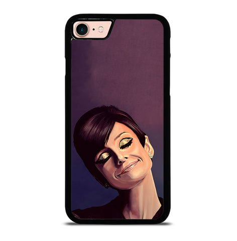 Audrey Hepburn Painting for iPhone 7 and 8 Case Cover