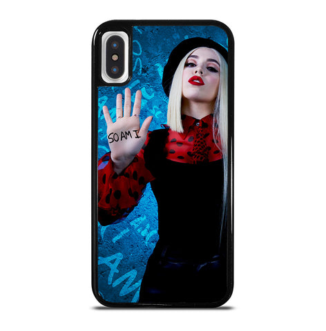 Ava Max So Am I for iPhone X or XS Case Cover