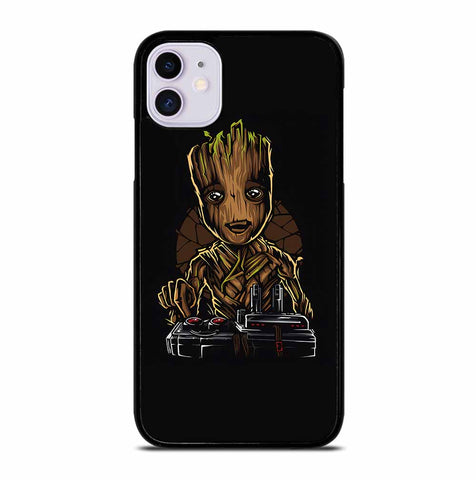 BABY GROOT DEATH BUTTON for iPhone 11 Case Cover