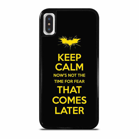 BATMAN QUOTES iPhone X/XS Case