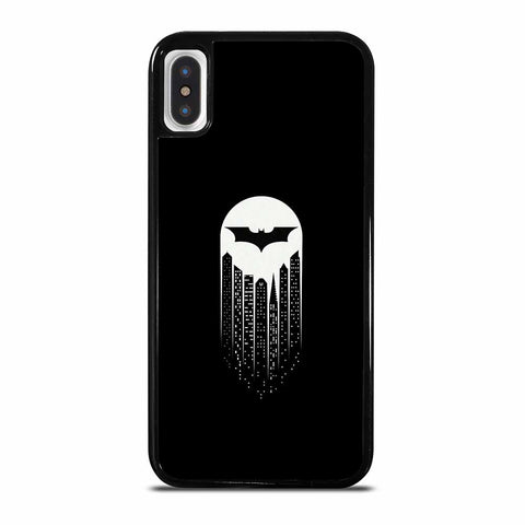 BATMAN SYMBOL BLACK AND WHITE iPhone X/XS Case Cover
