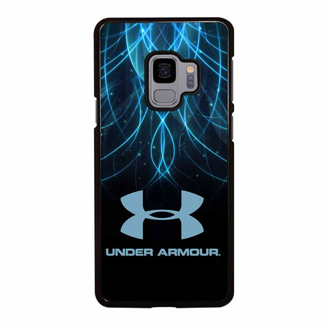BLACK AND BLUE UNDER ARMOUR LOGO for Samsung Galaxy S9 Case Cover